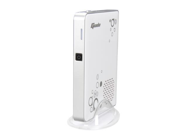 Giada Slim White A50-WA531 AMD E-350 APU 1.6 GHz Dual Core AMD Hudson M1 AMD Radeon HD 6310 w/ 2GB RAM, 320G HD Nettop PC