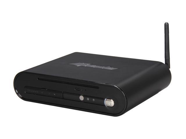 Giada Cube D2301-B5541 Black Mini / Booksize Barebone System