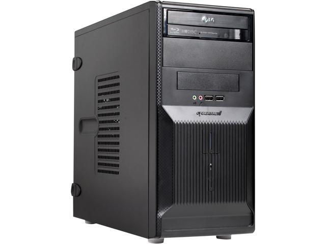 CybertronPC Forge TBB1223D AMD FX 4100 3.60GHz Mini-Tower Barebone