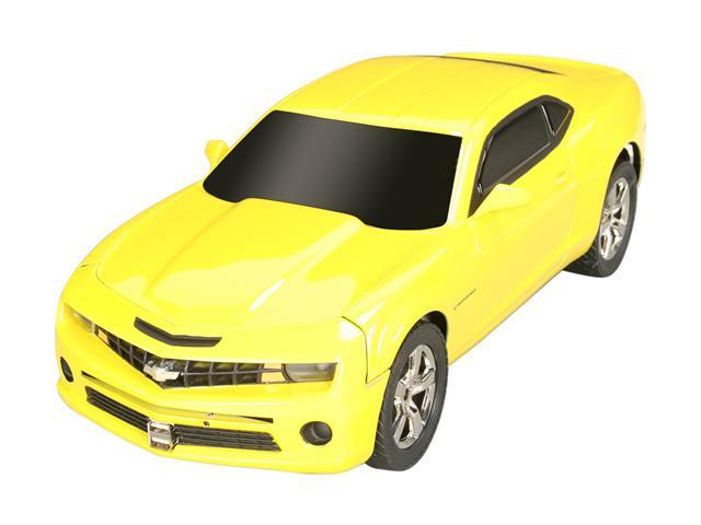 PC Rides Chevy Camaro Rally Yellow Mini / Booksize Barebone System