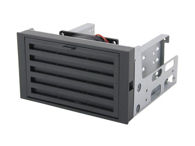 "iStarUSA iStorm7 Heat Terminator Bracket 2x5.25"" with 3 HDD Drive with 1x80mm Fan"