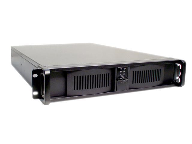 iStarUSA D200L2U35 Black Aluminum / Steel 2U Rackmount High Performance Chassis