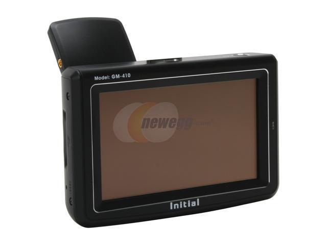 """Initial 4.0"""" GPS Receiver"""