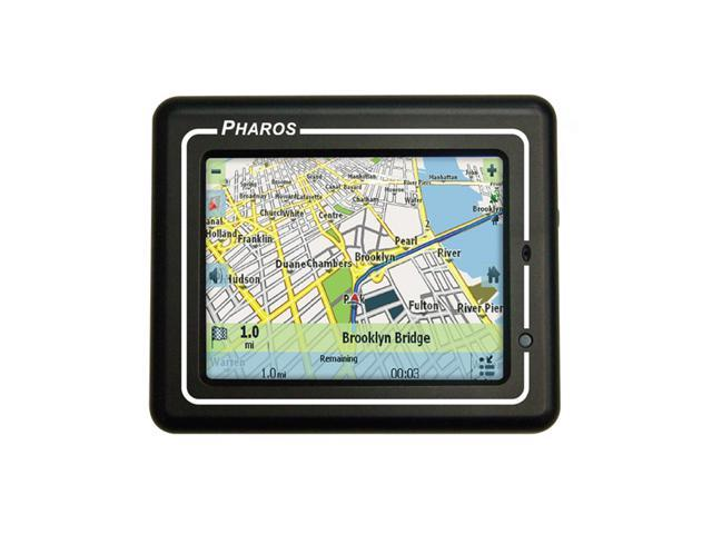 "PHAROS 3.5"" Portable GPS Navigation System"