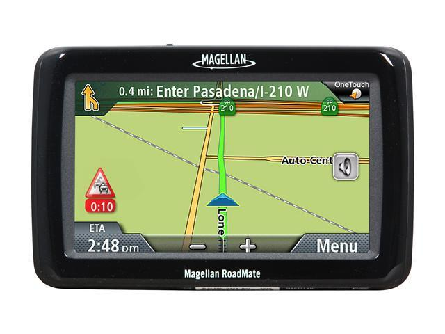 "MAGELLAN 4.3"" GPS Navigation with Lifetime Traffic"