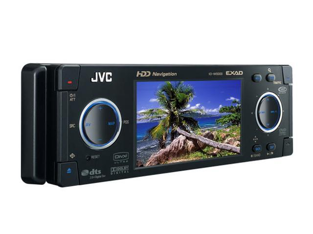 "JVC 3.5"" EXAD-Series HDD-Navigation DVD/CD Receiver"