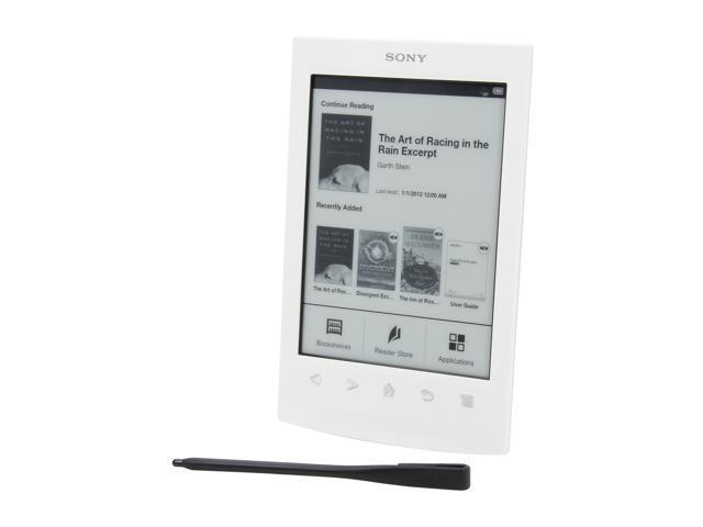 """SONY 6"""" White E-Book Reader PRS-T2WC"""