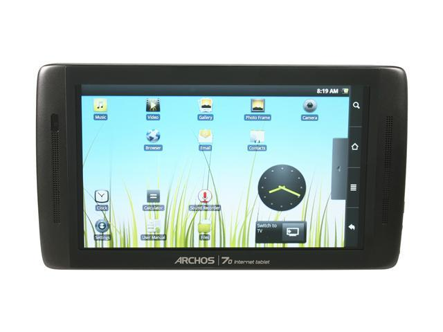 "Archos 70 8GB Flash Memory 7.0"" Internet Tablet"