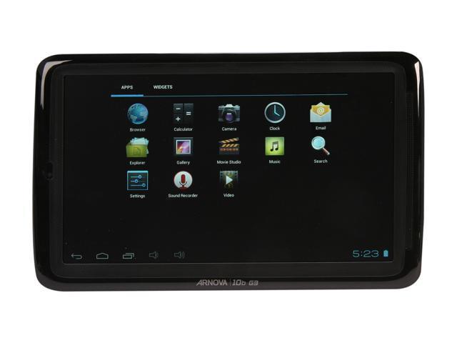 "Archos Arnova 502019 10.0"" Capacitive Multi-touch Screen, 1024x600 Resolution, 1ghz Cpu, 1gb  Ram, 8gb Flash, Micro Sd Slot"