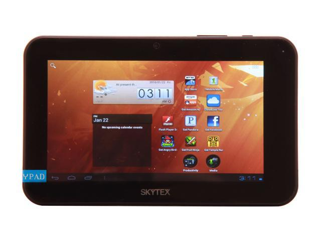 "SKYTEX SP712 4 GB 7.0"" Dual Core Media Tablet Android 4.0"