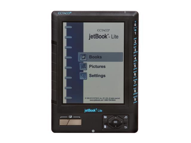 ECTACO E-Book Reader jetBook-Lite