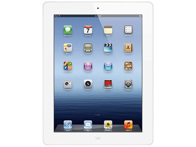 Apple the New iPad 3rd Gen (64 GB) with Wi-Fi – White – Model# MD330LL/A