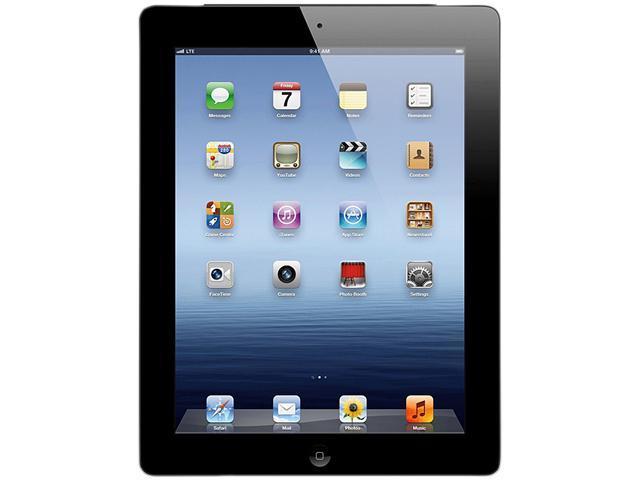 Apple MD367LL/A - The New iPad (3rd Gen) With Wi-Fi + 4G (AT&T) - 32GB - Black