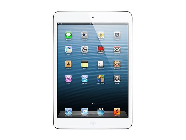 Apple iPad mini (32 GB) with Wi-Fi + AT&T 4G LTE – White/Silver – Model #MD538LL/A