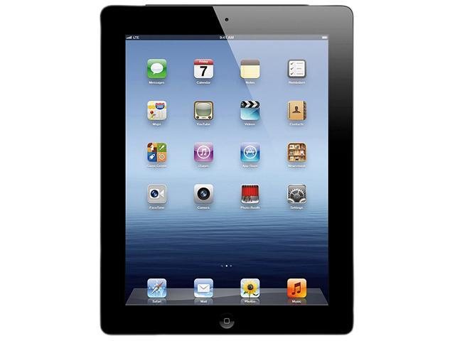 Apple The new iPad 3rd Gen (32 GB) with Wi-Fi – Black – Model #MC706KH/A