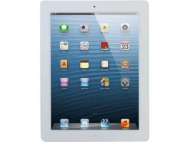 "Apple MD330KH/A 64GB Flash 9.7"" iPad with Wi-Fi 64GB - White (3rd generation)"