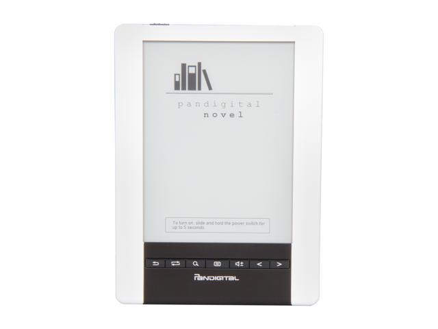 "Pandigital Novel Personal  6"" Touchscreen eReader with Linux and Wi-Fi PRD06E20WWH8"