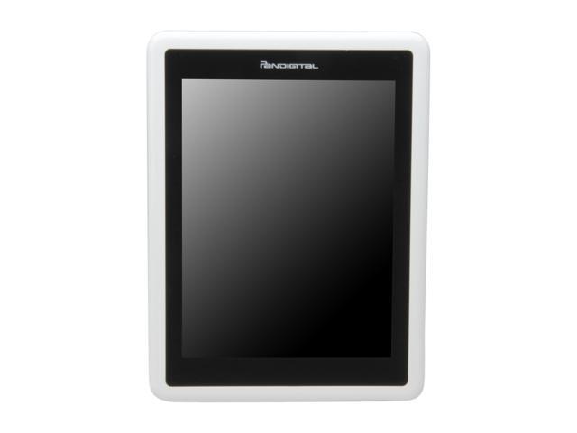 """Pandigital Novel 7"""" Color Multimedia White E-Book Reader PRD07T10WWH756"""