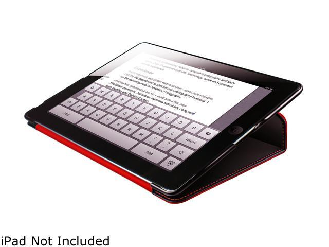 HornetTek Tai Chi HT-IPD3-TA-BR Cover Case (Cover) for iPad - Black, Red Black/Red