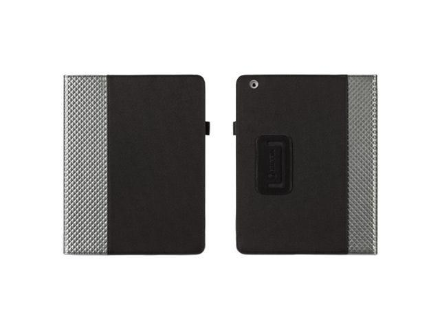 Griffin Elan Folio Carrying Case (Folio) for iPad - Black, Gray