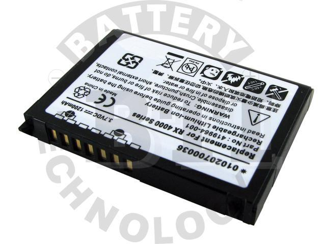 BTI PDA-HP-RX3715 Lithium Ion Personal Digital Assistant Battery