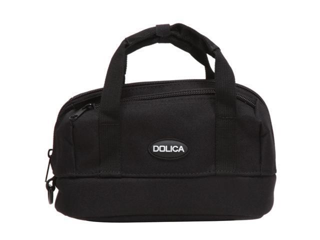DOLICA Black Nylon Zippered GPS Bag with Plenty of Storage Space