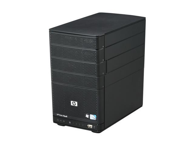 HP StorageWorks X310 Intel Atom Dual Core (1.6GHz) 2GB Memory 1TB Data Vault 3 open bay, Windows Home Server