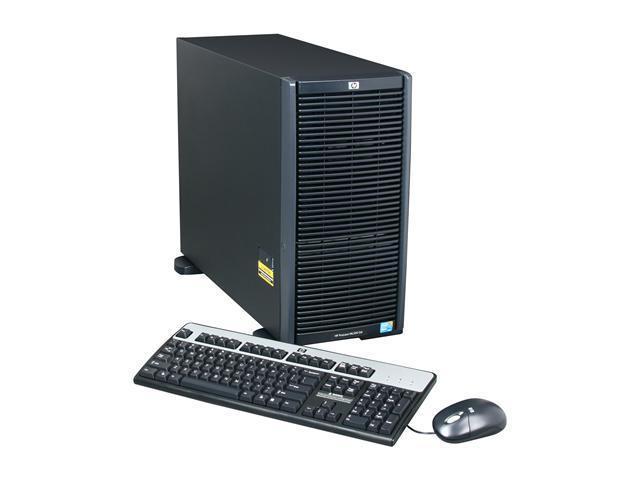 HP ProLiant ML350 G6 Tower Server System Intel Xeon E5620 2.40GHz 4C/8T 4GB (2 x 2GB) DDR3 600426-005