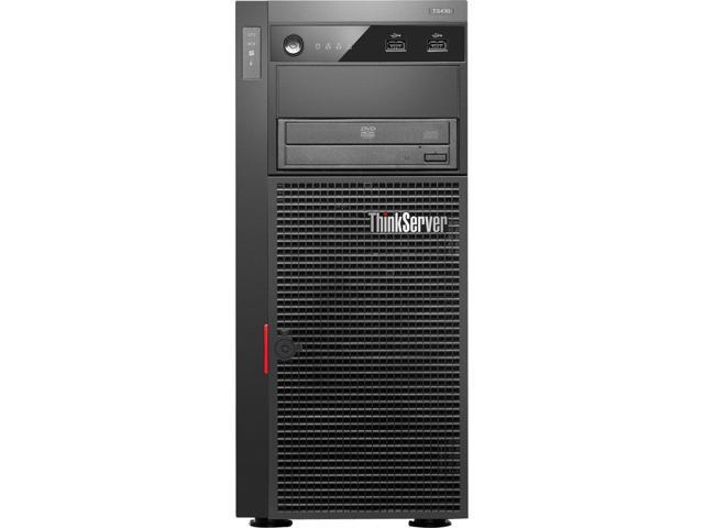 Lenovo ThinkServer TS430 Tower Server System Intel Xeon 4GB