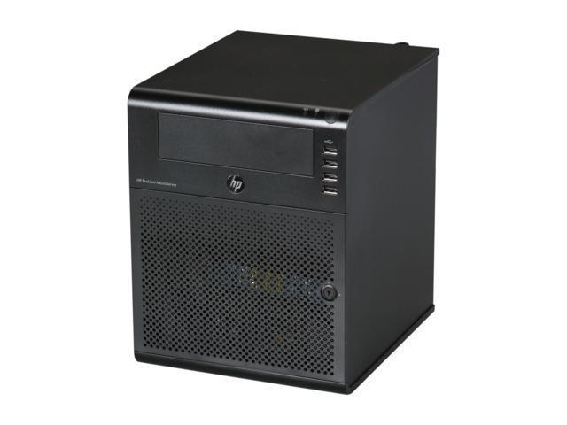 HP ProLiant N40L MicroServer Server System AMD Turion II Neo N40L 1.5GHz 2-Core 2GB (1 x 2GB) DDR3 1 x 250GB LFF SATA 658553-001