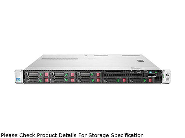 HP ProLiant DL360e Gen8 Rack Server System Intel Xeon E5-2403 1.8GHz 4C/4T (Max 2 Sockets/8 Cores) 4GB (1 x 4GB) DDR3 No Hard Drive (up to (8) SFF SAS/SATA hot plug drives) 668813-001