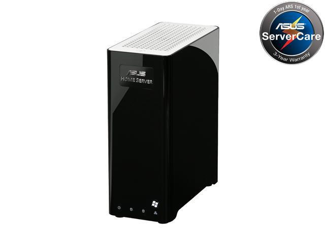 ASUS TS Mini SOHO Home Server w/ Intel Atom N280 1.66GHz 1GB DDR2 500GB HDD installed, powered by Windows Home Server