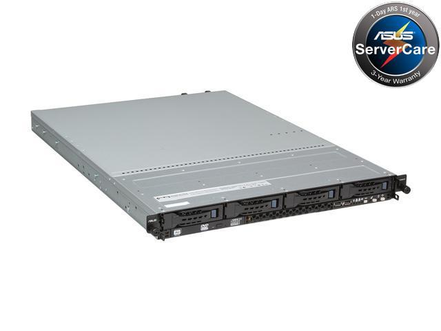 ASUS RS300-E7/RS4 1U Rackmount Server Barebone LGA 1155 Intel C204 DDR3 1600/1333/1066