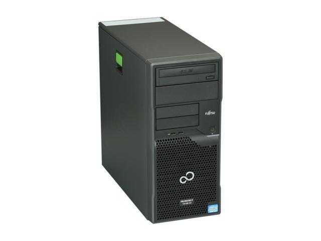 Fujitsu PRIMERGY TX100 S3 Tower Server System Intel Core i3-2100 3.10GHz 4GB ECC (2 x 2GB) 1x250GB SATA II 3.5