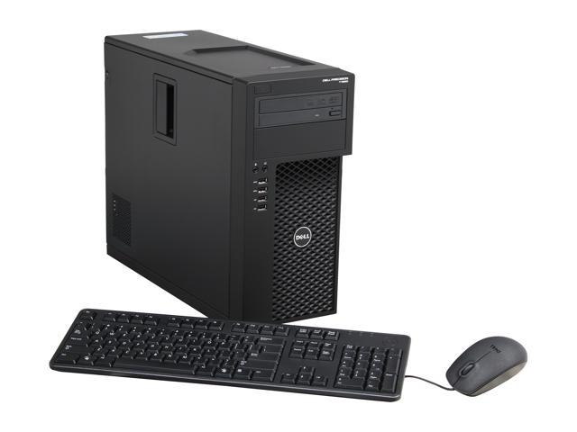 DELL Precision T1650 Mini-tower Workstation Intel Xeon E3-1220V2 3.1GHz 4C/4T 4GB DDR3 500GB 7200 RPM 3.5
