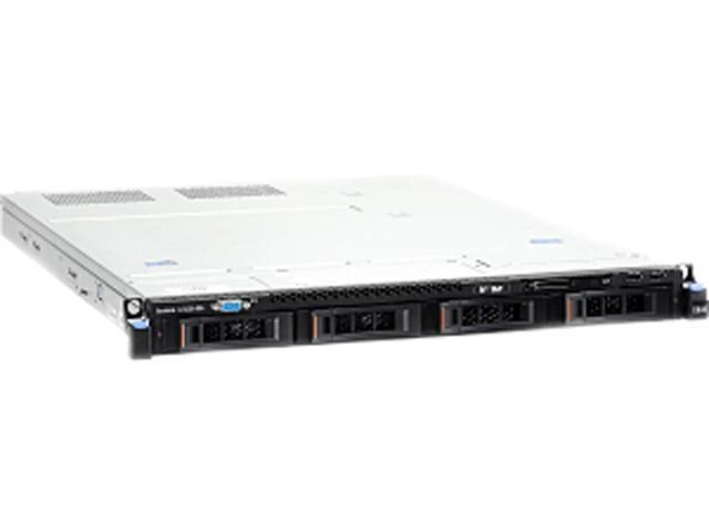 IBM x3530 M4 Rack Server System Intel Xeon E5-2407 2.2GHz 4C/4T 8GB DDR3 No Hard Drive 7160EAU