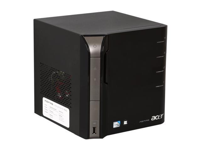 acer aspire easystore tower server system intel atom d510. Black Bedroom Furniture Sets. Home Design Ideas