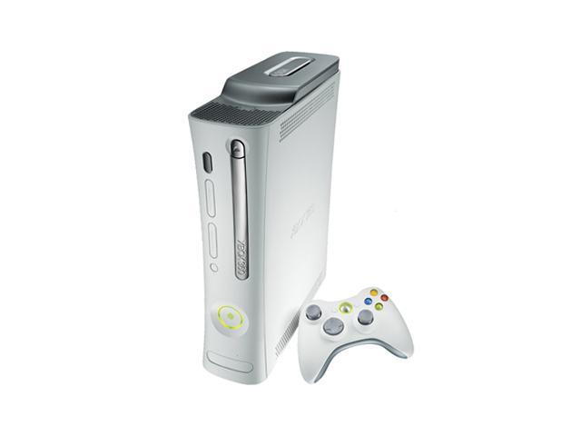 Microsoft Xbox 360 Pro with HDMI 20 GB Hard drive White
