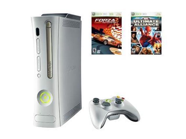 Microsoft Xbox 360 Pro Bundle 20 GB Hard drive White