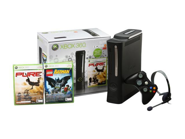 Microsoft Xbox 360 Elite Holiday Bundle w/Lego Batman & Pure