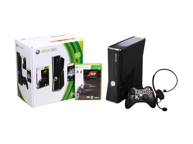 Microsoft Xbox 360 Bundle 250 GB Hard Drive Black