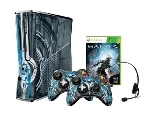 Microsoft  XBOX 360 Halo 4 320GB Limited Edition System w/Halo 4 & 2 Controllers