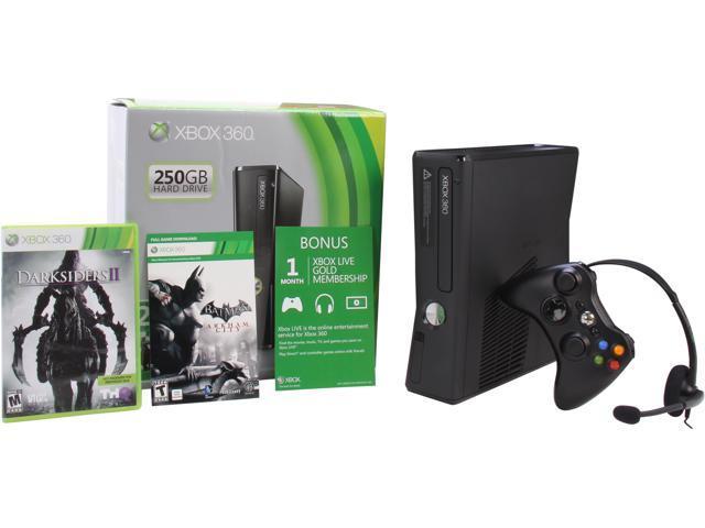 Microsoft Xbox 360 250GB Spring Value Darksiders 2/Batman bundle