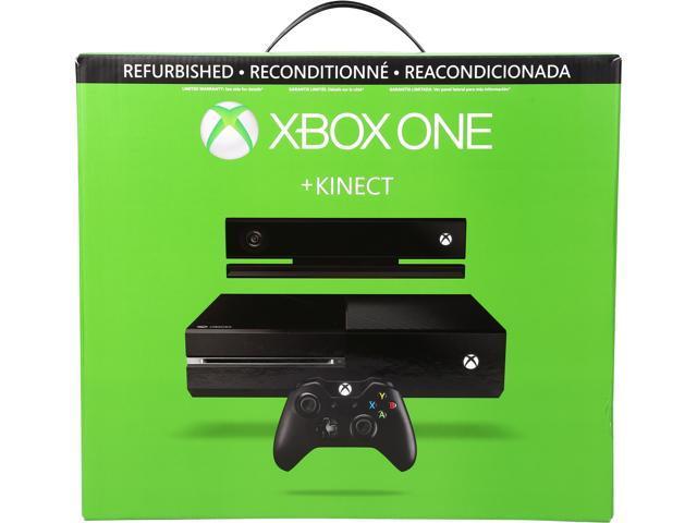 Microsoft Xbox One with Kinect Black