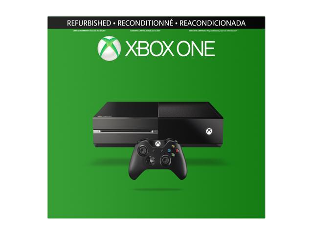 Microsoft Factory Refurbished XBOX One Gaming Console w/8GB Memory 500 GB Hard Drive Wireless-Controller Chat-Headset HDMI-Cable in Retail Box