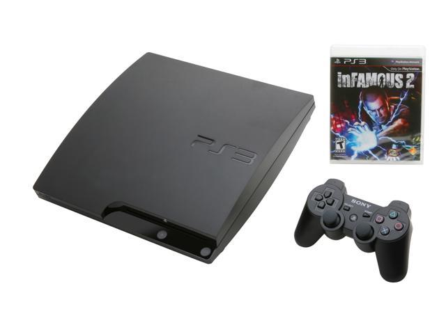 Sony Playstation 3 Infamous 2 320GB Bundle Black