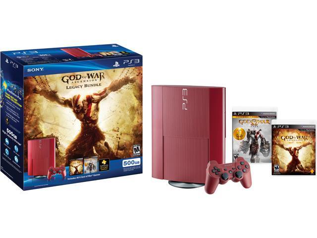SONY PS3 500GB God of War Ascension Legacy Bundle