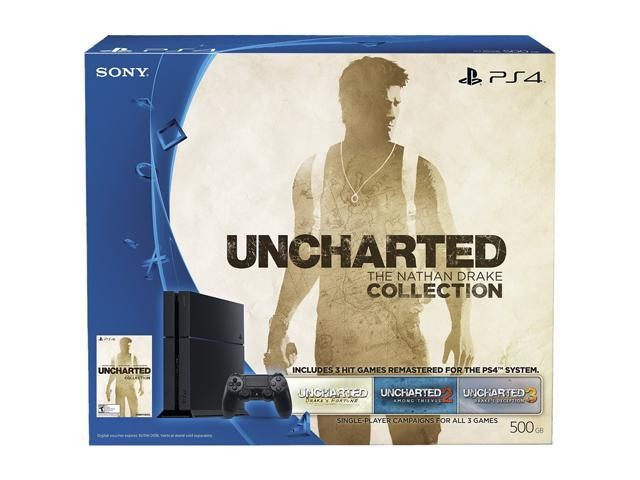 PlayStation 4 - Uncharted: The Nathan Drake Collection 500GB Bundle