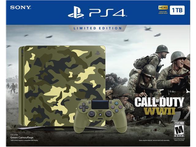 PlayStation 4 Slim 1TB Console - Call of Duty WWII Limited Edition