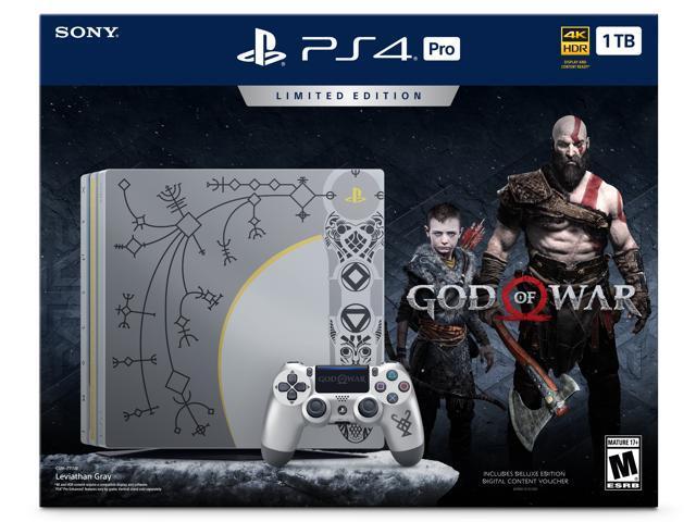 Sony PlayStation 4 Pro 1TB Limited Edition God Of War Bundle